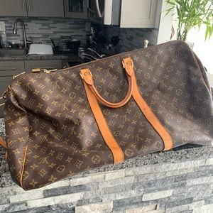 Louis Vuitton 55 Duffel Monogram